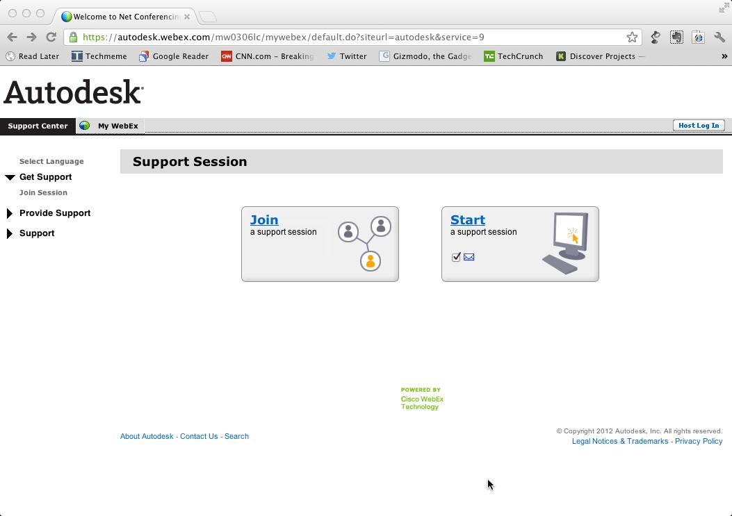 Autodesk Advanced Support