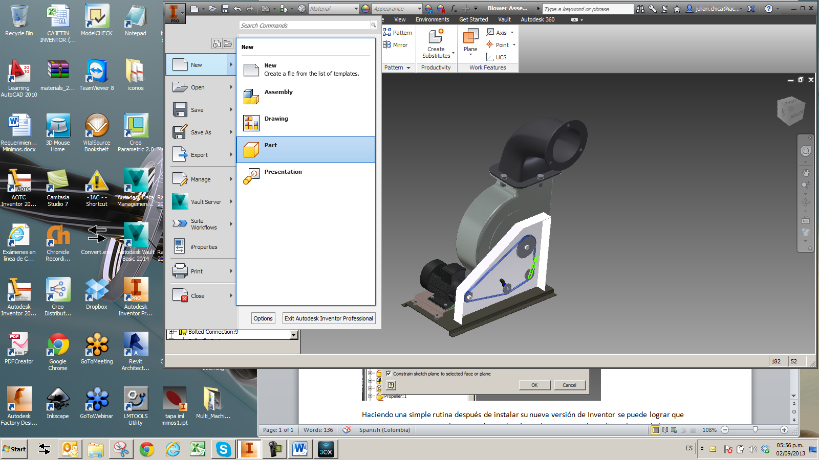 imagen 1a Autodesk Inventor