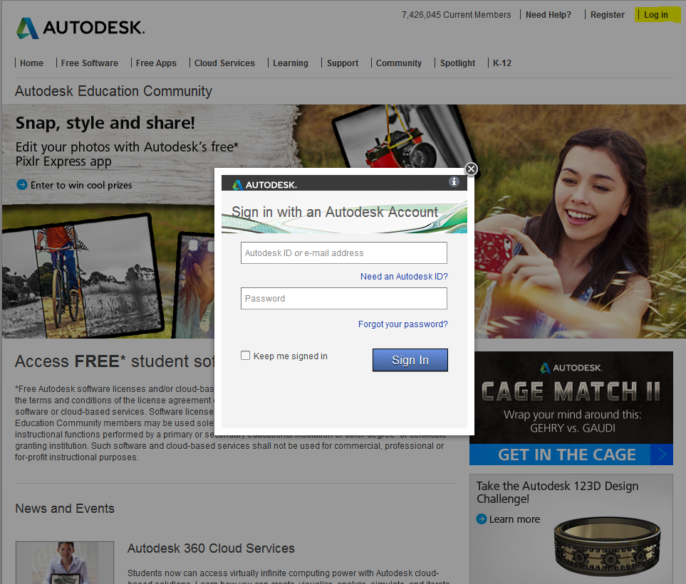descargar Software de Autodesk gratis 5
