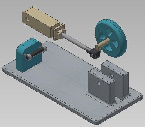creacion de multi-cuerpos con autodesk inventor 11