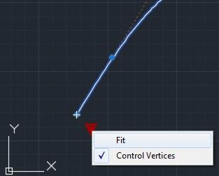 Splines tangentes en AutoCAD 1