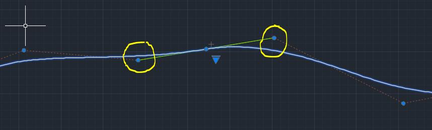 Splines tangentes en AutoCAD 5