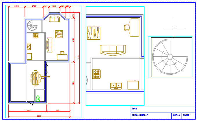 cad how to create viewport