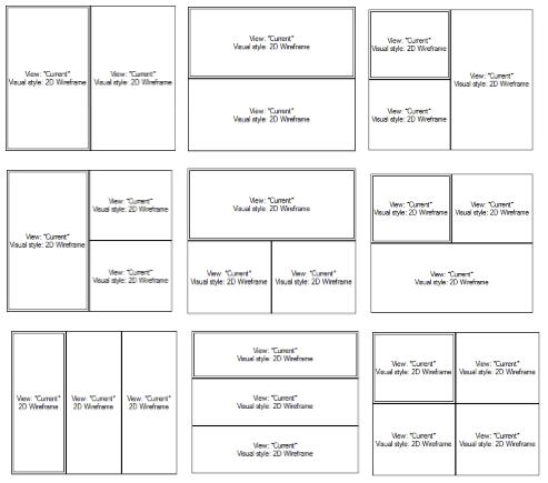 AutoCAD ViewPorts 4