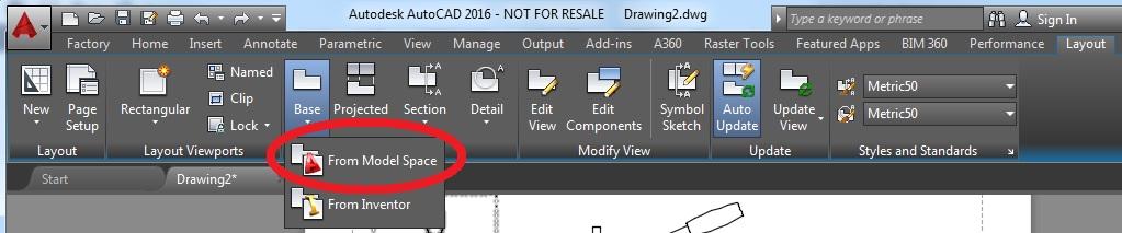 modelos 3D importados en AutoCAD 2016 b