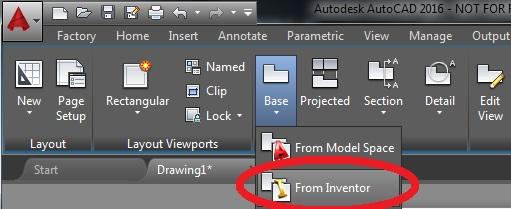 modelos 3D importados en AutoCAD 2016 d