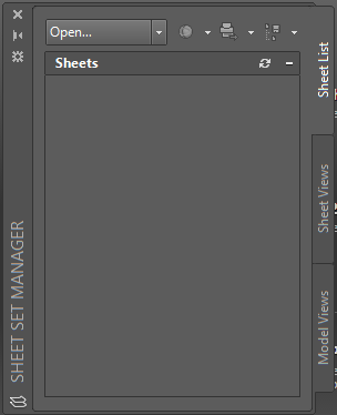 how to create a sheet set in autocad