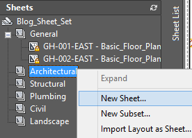 tutorial autocad 2016 Sheet Set 1