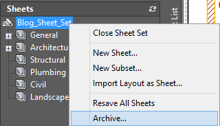 tutorial autocad 2016 Sheet Set 13