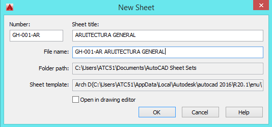 tutorial autocad 2016 Sheet Set 2