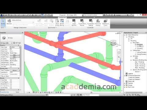 Webcast de modelado de redes hidrosanitarias con Autodesk REVIT 2015