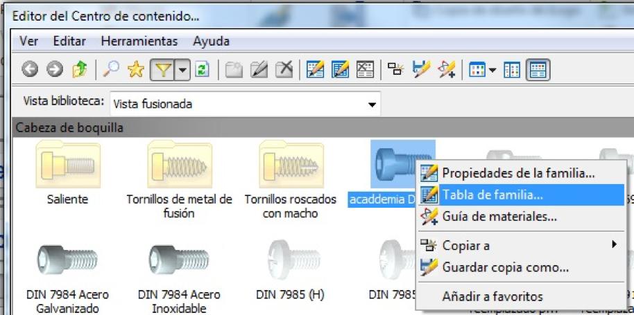 Centro de Contenidos en Autodesk Inventor 2