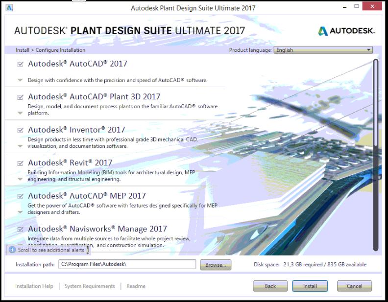 3 Instalacion de productos Autodesk